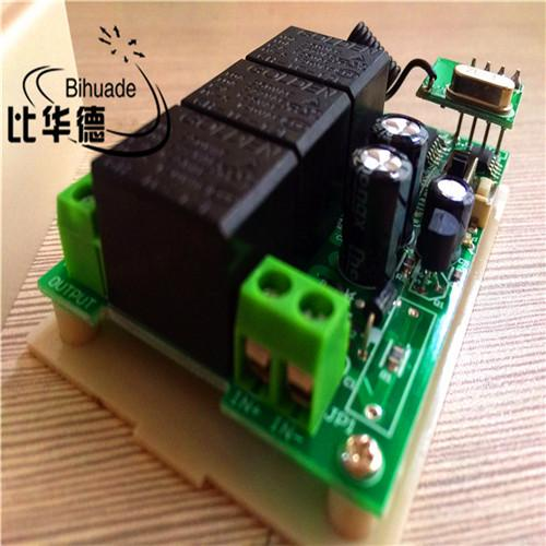 315mhz 12v 3ch Channel Relay Rf Wireless Remote Control Switch Receiver Module And Rf Remote 315mhz Transmitter Kit