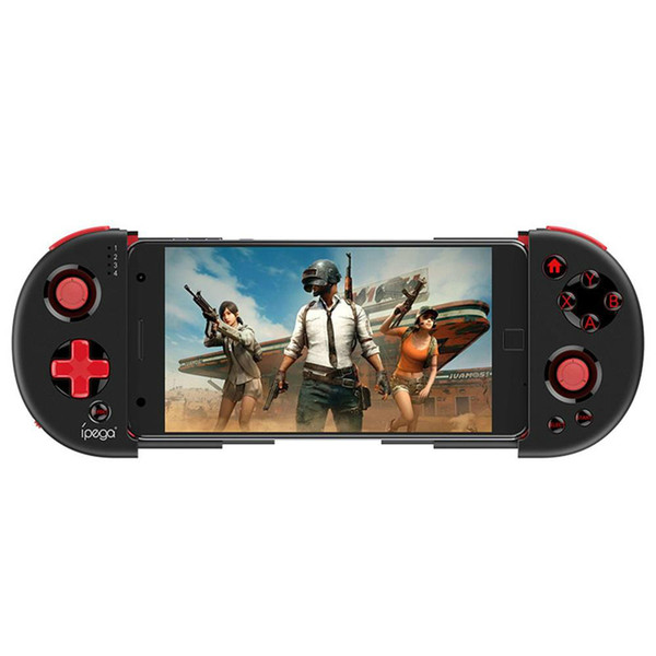iPega PG-9087 Gamepad Bluetooth Gamer Controller mit Teleskop-Telefonständer für Android / IOS Smartphone / PC Praktischer Stretch-Joystick
