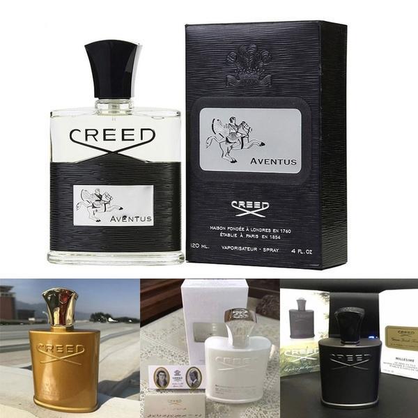 Moda erkek Köln Taze Parfüm Creed Aventus Creed 4fl.oz / Erkekler için 120ml Millesime Parfum