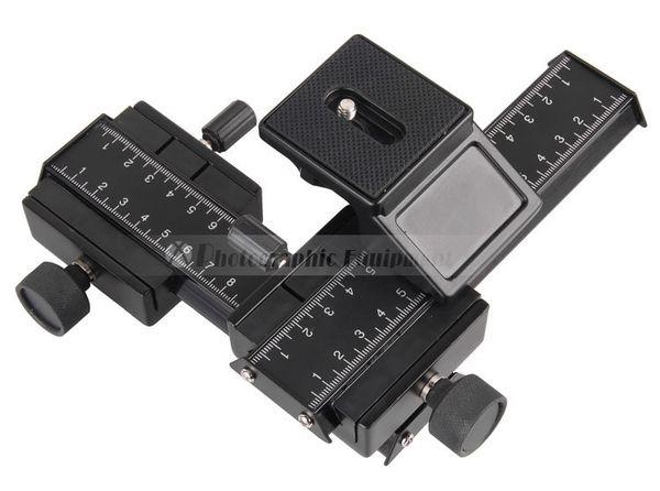 DSLR Rig Kamera Stativkopf Zwei-Wege-Anpassung Passt für Objektiv Reverse Makro Fotografie Zubehör