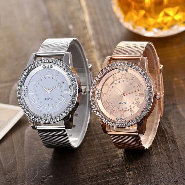 2018 relojes de moda casual mujeres reloj de pulsera analógico de cuarzo  señora mujer correa de d9a2f5d48d6f