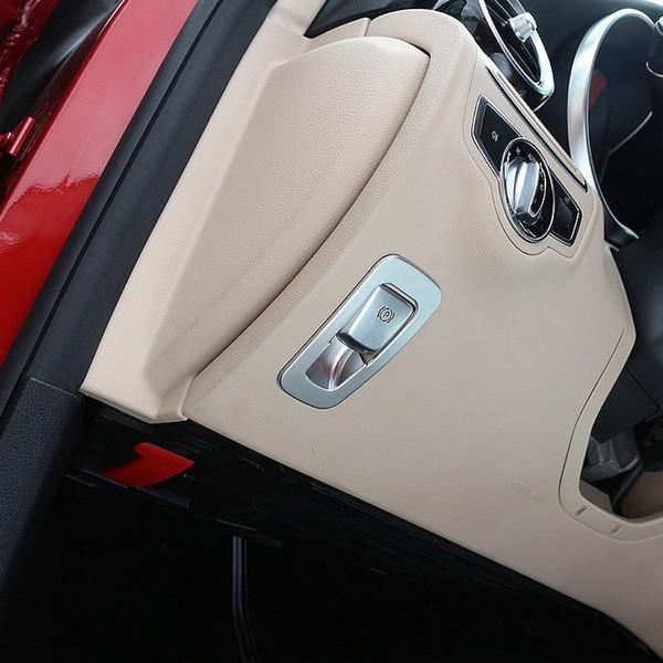ABS Electronic Handbrake Cover Trim For Mercedes W213 E GLC Class W205 2015-2017