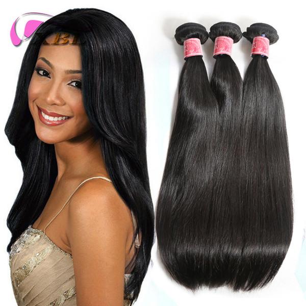 La trama recta sedosa del pelo humano de la armadura del cabello humano del brasileño 100 de XBL mancha paquetes del color natural