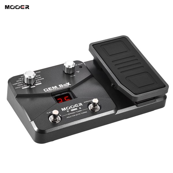 MOOER GEM BoX Guitar Multi-effects Processor Effect Pedal Supports Tuning Function With Expression Pedal Storing Mode