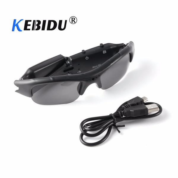kebidu Cool Sunglasses Digital 720P HD Camera Glasses Eyewear DVR Video Recorder Camcorder Support TF Card Gift for Friends