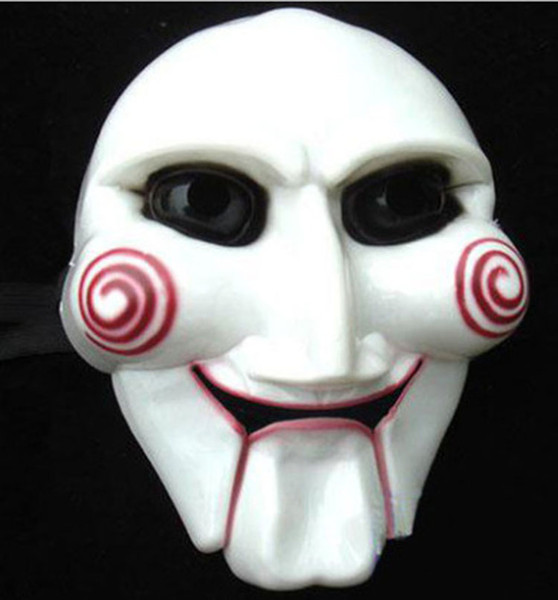 Halloween Masquerade Party male Saw Mask Full Face terror carnival masks For Party Cosplay Masquerade Show