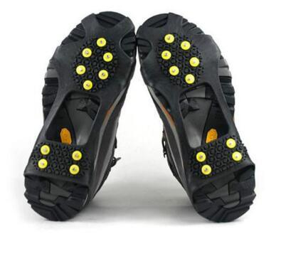 Snow Mountain anti-skid shoe cover 2018 hot outdoor climbing snow anti-skid shoe cover anti-skid shoes chain 10 teeth crampons