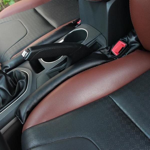 New Leather Car Seat Gap Filler Soft Pad Leak Proof Spacer Padding for Mercedes BMW F10 E90 E91 Focus Cruze Impala VW Polo