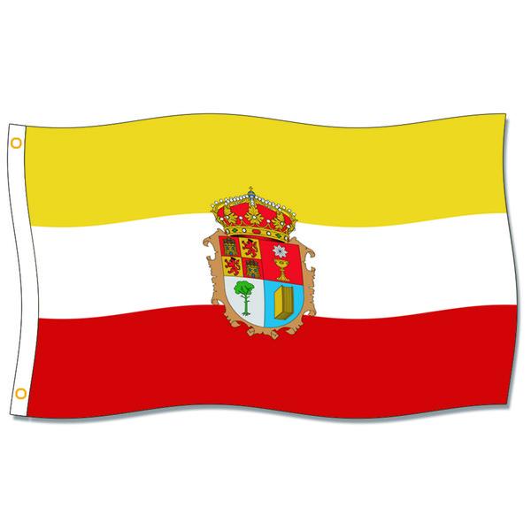[İyi Bayrak] Cuenca Province Bayraklar 3X5FT 150X90 CM 100% Polyester, Metal Grommet ile Tuval Kafası, Kullanılan Kapalı veya Açık Havada