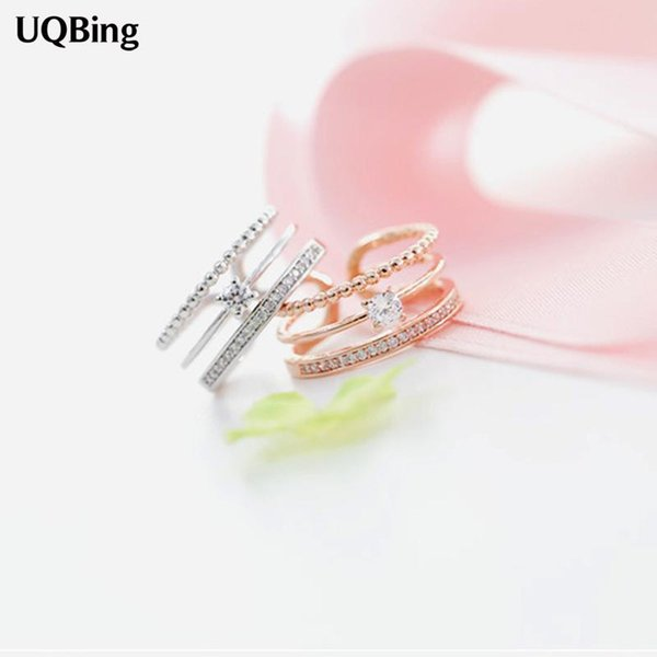 Wholesale- 2016 Free Shipping 925 Sterling Silver Rings For Women Jewelry Beautiful Finger Rings For Party Birthday Gift