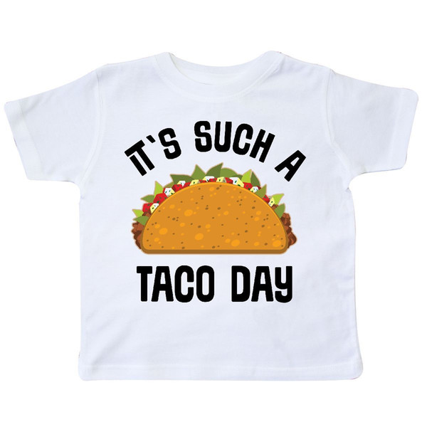 dbcbe91a Inktastic Cinco De Mayo Such A Taco Day Toddler T-Shirt Tuesday Food  Mexican Kid