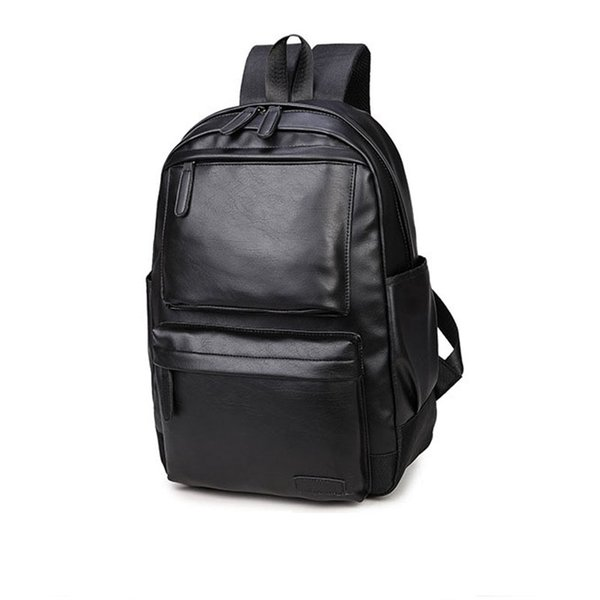 Wholesale- 2017 Gift For Men School Backpack Computer Laptop Backpack Male High School College Student Bookbag Travel Fashion Men Backpack