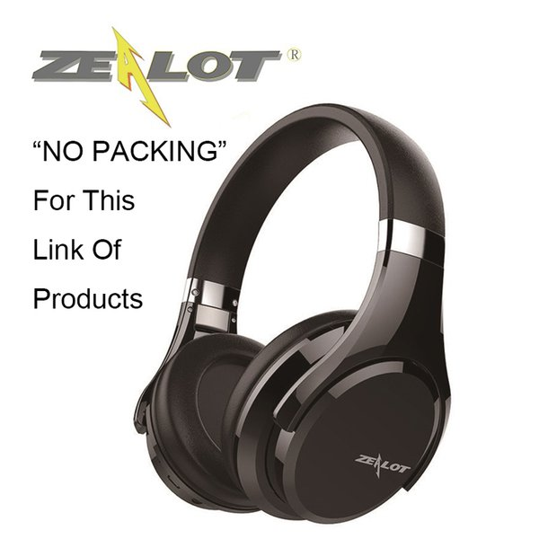 Zealot No Packing Wireless Bluetooth Headphones B21 Casque More Stable Wear  Overear Cushion Hifi Stereo Sound Bass Touch Panel Audio Cable Earbuds For