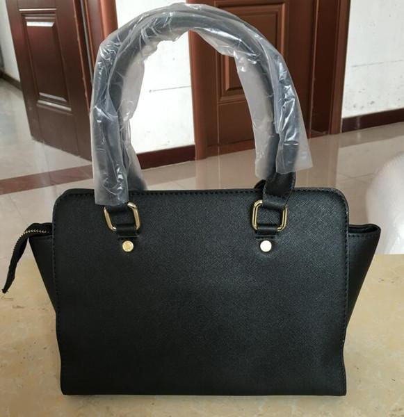 New Vogue Moda estilo das Mulheres Hot Handbags Ombro Mensagem Saco Tote Bags 28 CM 5 cores Com Frete Grátis