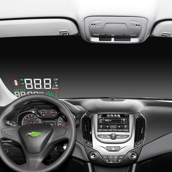 Kust Newest Arrival Auto Car HUD Head Up Display for  For Cruze 2015 2017 2018 Head-up Display OBD Car Styling