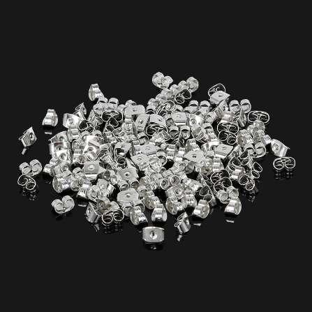 High Quality Alloy/Plastic Earring Backs Bullet Stoppers Earnuts Earring Plugs/blocked Jewelry Finding DIY Accessories