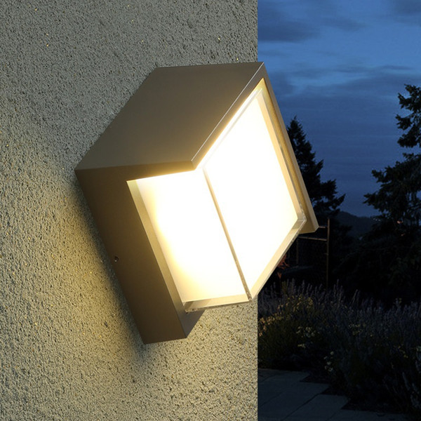 2019 10w Led Waterproof Outdoor Wall Lights Yard Decoration Sconces Home Decoration Lighting Outside Light Outdoor Fountain Garden Lamp From Geylight