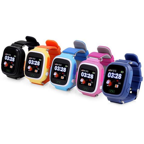 GPS Q90 Smartwatch Touch Screen WIFI Positioning Children Smart Wrist Watch Locator PK Q50 Q60 Q80 for Kid Safe Anti-Lost