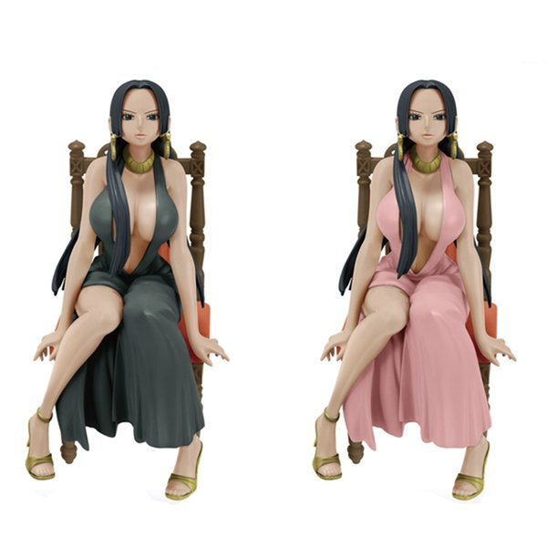 No Box 15cm One Piece OP Boa Hancock PVC GIRLY GIRLS Figure Collection Sexy Toy Doll Model Decoration Ornament Gift