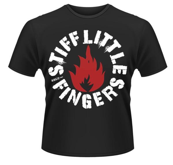 Одежда плюс размер S M L Xl XXl o-образным вырезом комфорт мягкий короткий рукав мужские жесткие мизинцы панк футболка рубашка