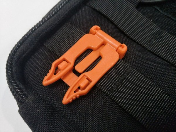 Nylon ITM Molle Clip Elastic String Backpack Accessories Clamp Connection Buckle Apply for 1 Inches Ribbon Color Assorted 5.5*3cm A469