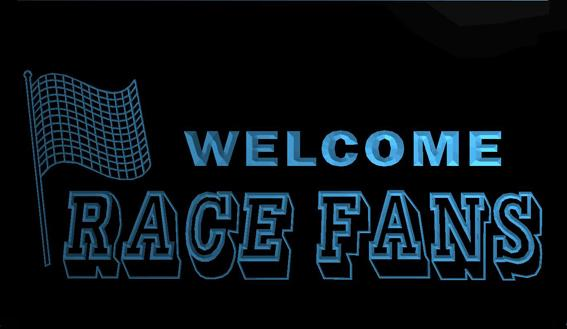 LS668-b-Welcome-Race-Fans-Car-Decor-Neon-Light-Sign Decor Free Shipping Dropshipping Wholesale 8 colors to choose