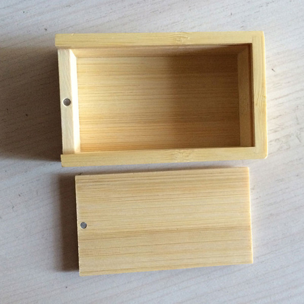 10 Piece No Logo Bamboo Packaging box Bamboo and wood gift box wood Rectangular gift box Size 105x70x25MM 4.13 x 2.76 x 0.99 inch