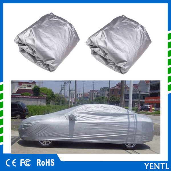 top popular Free shipping YENTL Indoor Outdoor Full Car Cover Sun UV Snow Dust Resistant Protection Size S M L XL SUV Car Cover Sun UV Snow dust rain 2020