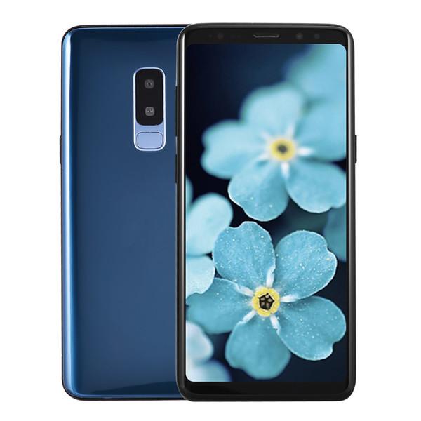 Cheap 3G WCDMA Goophone S9+ Plus Clone Show 256GB 128GB 64GB 4G LTE Octa Core Android 7.0 6.3 inch Full Screen Face ID Iris GPS Smartphone