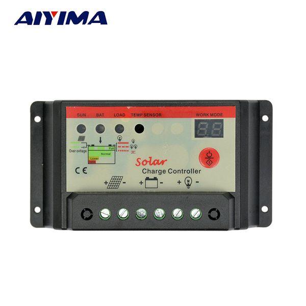 atteries Cells, Panel AIYIMA Flexible Solar Panel Cells Solar Battery Charger Controller 12V 24V 30A Controller Panneau Solaire Regulat...