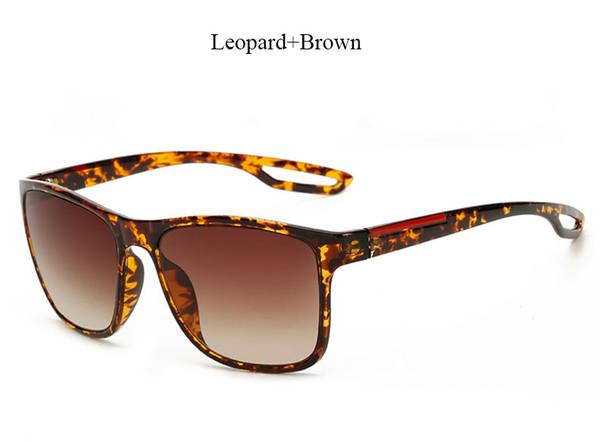 YF214 Leopard Brown