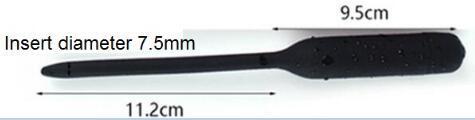 Black-diameter 7.5mm long 11.2cm