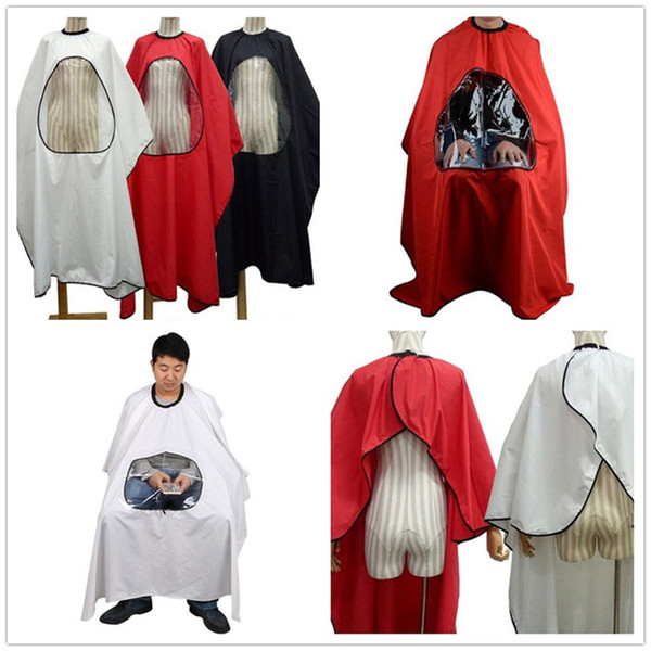 4 colors Professional Salon Barber cape Hairdresser Hair Cutting Gown cape Waterproof Cloth for barber Apron X101