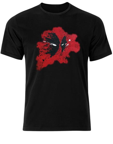 Deadpool Marvel Antihero Mutants Comic Supervillain Tee-shirt Pour Homme AD96