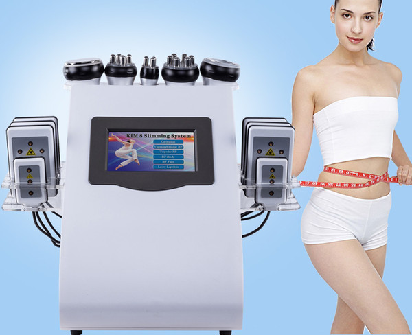 40k fat cavitation lipo uction ultra onic cavitation vacuum rf body haping weight lo lipo la er body limming beauty machine