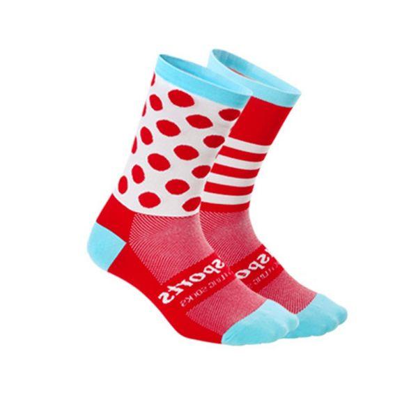 Men And Women New Arrival Sporting Socks Unisex Breathable Crew Socks Fashion Color Blocks Casual Crew High Elastic