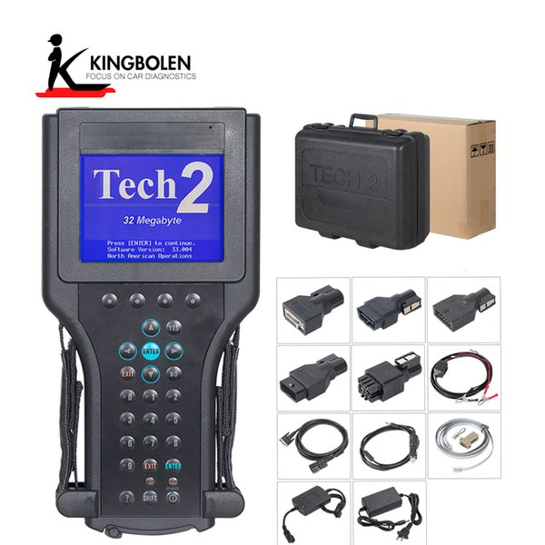 2018 Newest For G m Tech 2 Scanner for Gm Diagnostic Tool High Performance G-M Tech2 with Free DHL Shipping With black box