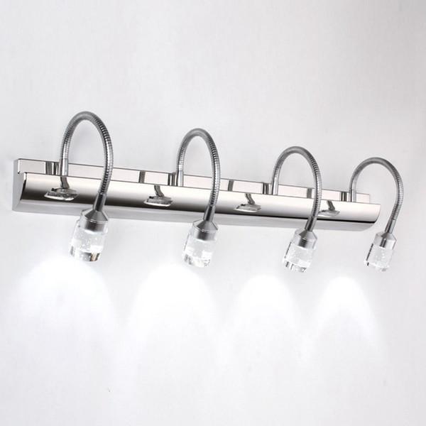 OOVOV LED Bubble Crystal Badezimmer Wandleuchte Mode Spiegel Leuchten Waschraum Wandleuchten Flur Balkon Wandleuchten