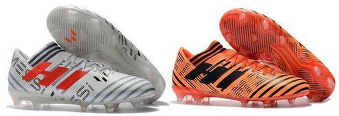 Hots Sale 2018 100% Original Nemeziz Messi Tango 17.3 TF Soccer Shoes Men Soccer Boots Indoor Soccer Cleats