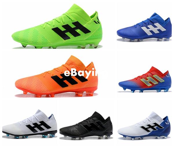 Großhandel WM 2018 Nemeziz Messi 18.1 18.3 FG Tango Herren Fußballschuhe Schuhe Chaussures Herrenschuhe Fußballschuhe Scarpe Da Calcio Von Ebaying,