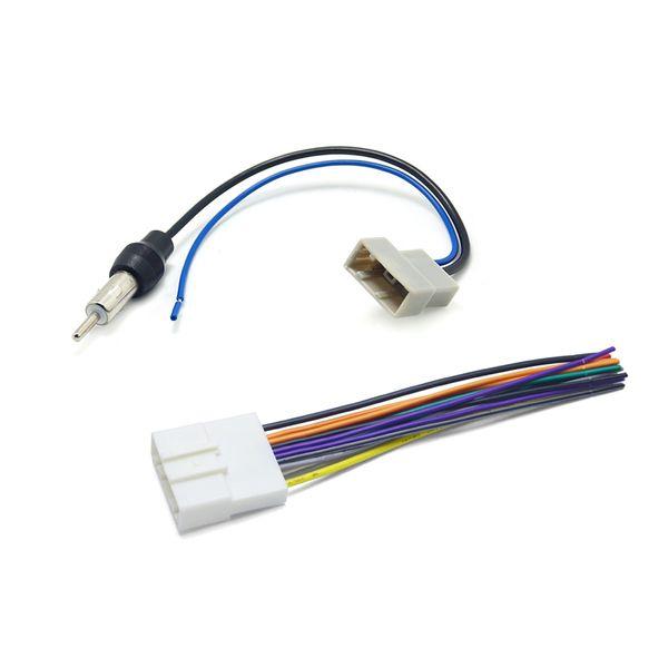 Car CD Audio Stereo Wiring Harness Antenna Adapter For Nissan/Subaru/Infiniti Install Aftermarket CD/DVD Stereo SKU#:1647