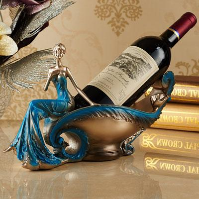 XXXG// European beauty wine rack fruit plate key disk Home Furnishing jewelry creative gifts resin handicrafts decoration A wed