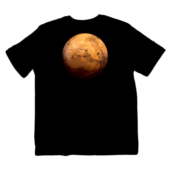 Mars Star NASA Astrology Planet Solar System Space Shirt S-XXXL Colour print