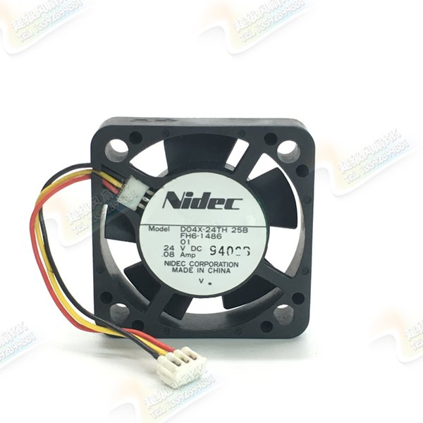 Original Nidec D04X-24TH 4010 4cm 24V 0,08A Inverter Lüfter