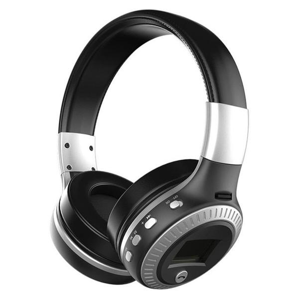 ZEALOT B19 Auriculares Bluetooth Auriculares estéreo inalámbricos Auriculares con micrófono Auriculares Ranura para tarjeta Micro-SD Radio FM para teléfono PC