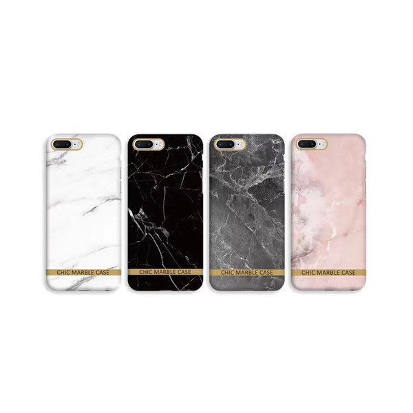 new product be027 acf14 Glossy Marble Phone Case For Iphone 7 Case Fashion Chic Gold Bar Back Cover  Hard PC Cases For Iphone7 7 Plus Fundas Coque Cell Phone Case Covers ...