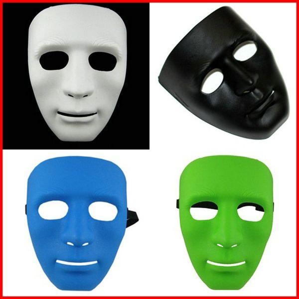 Jabbawockeez Masque Complet Halloween Hiphop Masques Plaine Haute Qualité Danses Plastiques Effectuer Masque Avec Multi Couleur 2cr jj