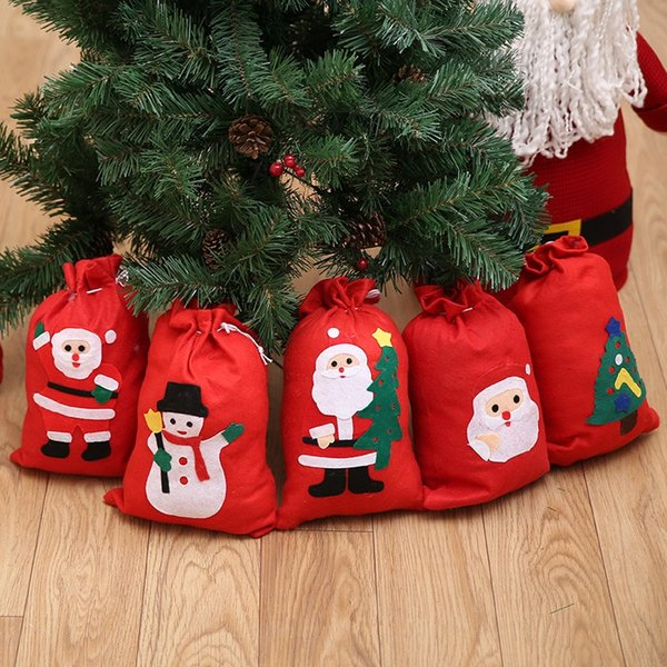 christmas gifts bags merry christmas santa claus lovely candy gift bags for christmas decorations party favors