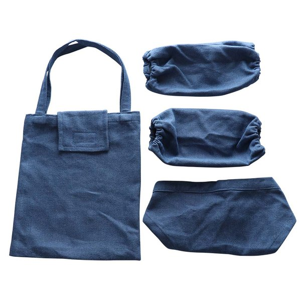 Painting anti-smudge Apron Kitchen anti-dirty oil-proof Apron For Kids And Kids Chef Hat Set Dropship