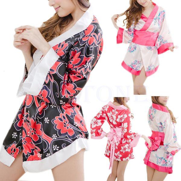 Платье кимоно сексуального женское бель японское